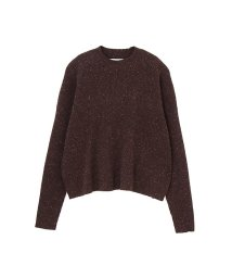 NATURAL BEAUTY BASIC/カラーネップニットセットアップトップス/10242951N