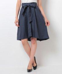 axes femme/サッシュベルト付ラップスカート/002055424
