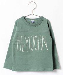 b-ROOM/HEY JOHN Tシャツ/002064419