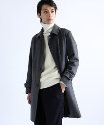 FREAK'S STORE/カシミア ウール ステンカラーコート/002070190