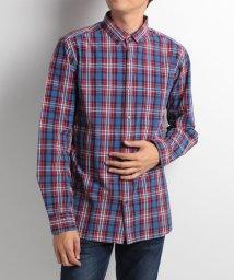 JNSJNM/【BLUE STANDARD】インディゴチェックシャツ/002056186