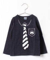 b-ROOM/レジメンネクタイTシャツ/002064420