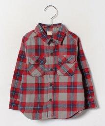 petit main/厚手チェックシャツ/002064430