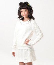 ALGY/花柄ジャガードトレーナー&スカートセット/002065121