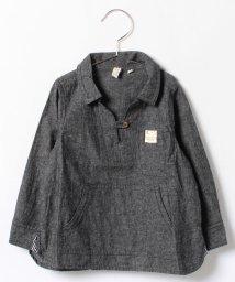 LAGOM/オックス起毛P/Oシャツ/002057726