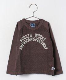 RUGGEDWORKS/カチオン化綿ラグランロンTee/002056759