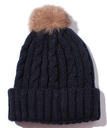 OFUON/ポンポンニット帽/002052857