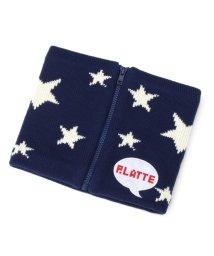 PINK-latte/星柄ZIPネックウォーマー/002074671