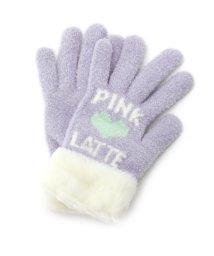 PINK-latte/ブークレロゴ手袋/002074674
