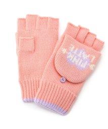 PINK-latte/ハートロゴ指きり手袋/002074676
