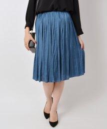 SHIPS WOMEN/ヴィンテージサテンギャザースカート/002075244