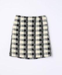 TOMORROWLAND collection/ファンシーツイード トラペーズスカート/002076556