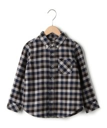 coen/【coen kids】ネルチェックボタンダウンシャツ/002074226