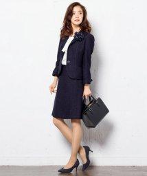 NIJYUSANKU/【WEB先行】ライトシャインツィード スカート/002080094