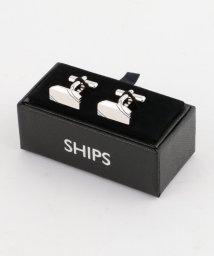 SHIPS MEN/SD: 2ライン スクエア カフスリンクス/002082647