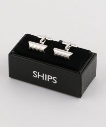SHIPS MEN/SD: ライン レクタングル カフスリンクス/002082648