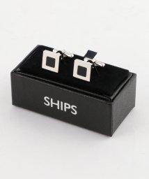 SHIPS MEN/SD: ダブルスクエア カフスリンクス/002082649
