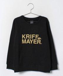 KRIFF MAYER(Kids)/ブランドロゴクルースウェット/002073764