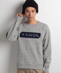 KRIFF MAYER/サガラ刺繍クルースウェット/002073766