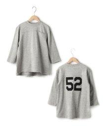 coen/【coen kids】フットボールミニ裏毛ワンピース/002074229