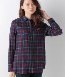 ELLE/タータンチェックシャツ/002075124