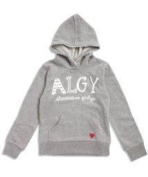 ALGY/パールロゴパーカー/002076937
