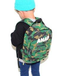 ANAP KIDS/3パターン柄スウェットリュック/002075744