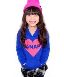ANAP KIDS/ハートシリコンプリント フーディートップス/002075746