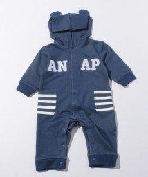 ANAP KIDS/デニムロンパース/002075749