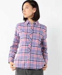 coen/粗びき杢チェックネルシャツ/002082978