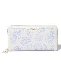 rienda/【rienda】フレームラウンドロングウォレット/002059083