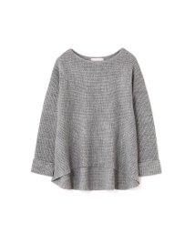 PROPORTION BODY DRESSING/《BLANCHIC》畦ニットクルーネック/002111053