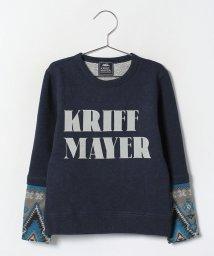 KRIFF MAYER(Kids)/袖ニットクルー(120〜130cm)/002080808