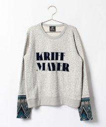 KRIFF MAYER(Kids)/袖ニットクルー(140〜160cm)/002080809