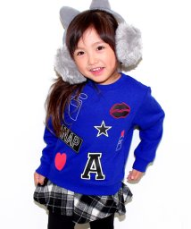 ANAP KIDS/アップリケトップス/002081100