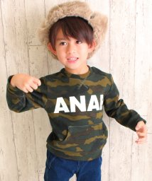 ANAP KIDS/【セットアップ対応商品】裏シャギー柄トップス/002081101