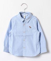 LAGOM/刺繍入りオックスシャツ/002082008