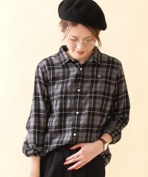 coen/コットンウールチェック2WAYシャツ/002082979