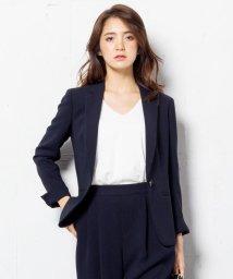 NIJYUSANKU/【洗える!】トリアセダブルコンパクト ジャケット/002120995