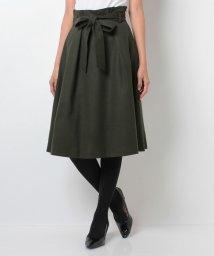 STRAWBERRY FIELDS/ソフトウールJZ ベルト付スカート/002115173