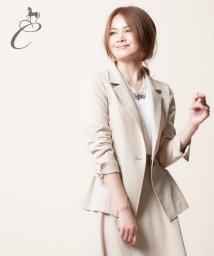 JIYU-KU /【Class Lounge】ロロピアーナストレッチサキソニー ジャケット/002121441
