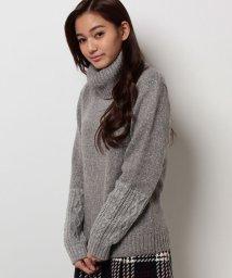 B donna/MIXニットセーター/002120411