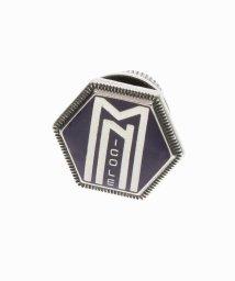 MONSIEUR NICOLE/ブランドロゴ入りビンズ/002125691