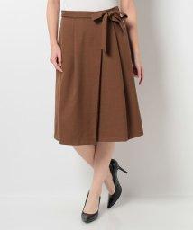 OFUON/ラップ風デザインスカート/002052790