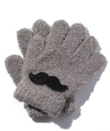 petit main/ひげ付マシュマロニット手袋/002119521
