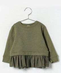 petit main/裾チュール切り替えトレーナー/002119526