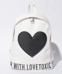 Lovetoxic/ハート合皮リュック/002128403