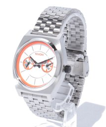 NIXON/NX TIME TELLER DELUXE SW: BB-8 SILVER/ORANGE/002133369