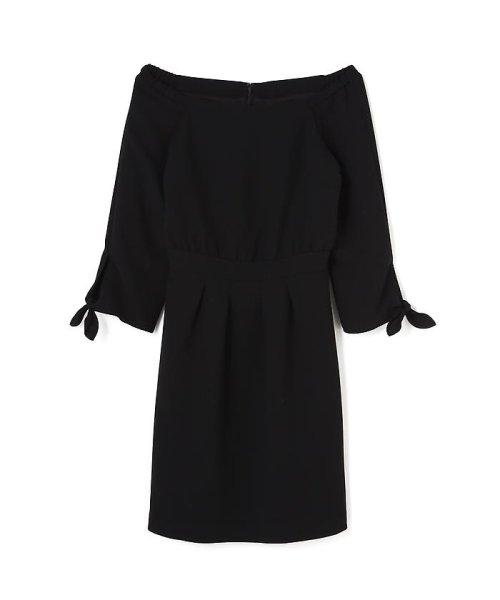 PROPORTION BODY DRESSING(プロポーション ボディドレッシング)/リボンオフショルワンピース/1216240102