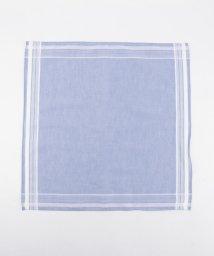SHIPS MEN/GRAZIINA: サックス/ブルー ハンカチーフ (ポケットチーフ)/002140526